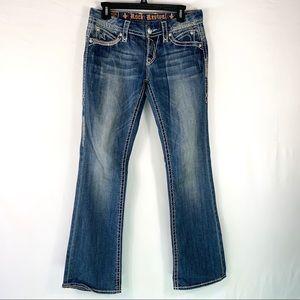 Rock Revival Sasha Boot Jeans Sz 28